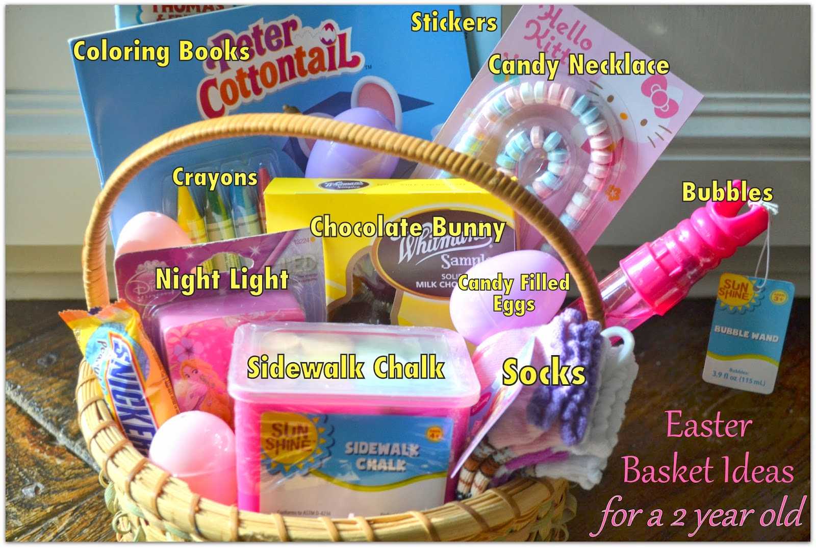 Easter basket ideas for a two year old logic laughter easter basket ideas for a two year old saturday april 19 2014 negle Choice Image