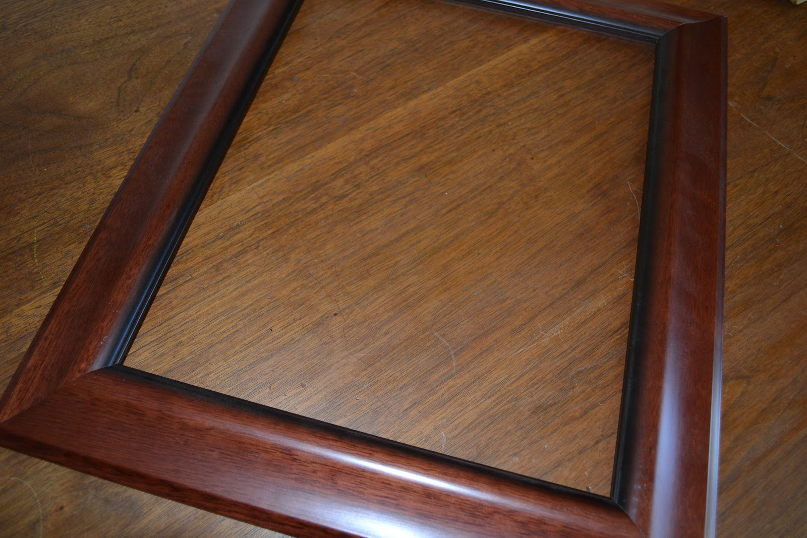 Southern Accents: How To: Frame in an Open Back Frame