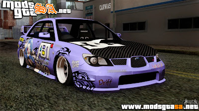 SA - Subaru Impreza WRX STI 5pb Itasha