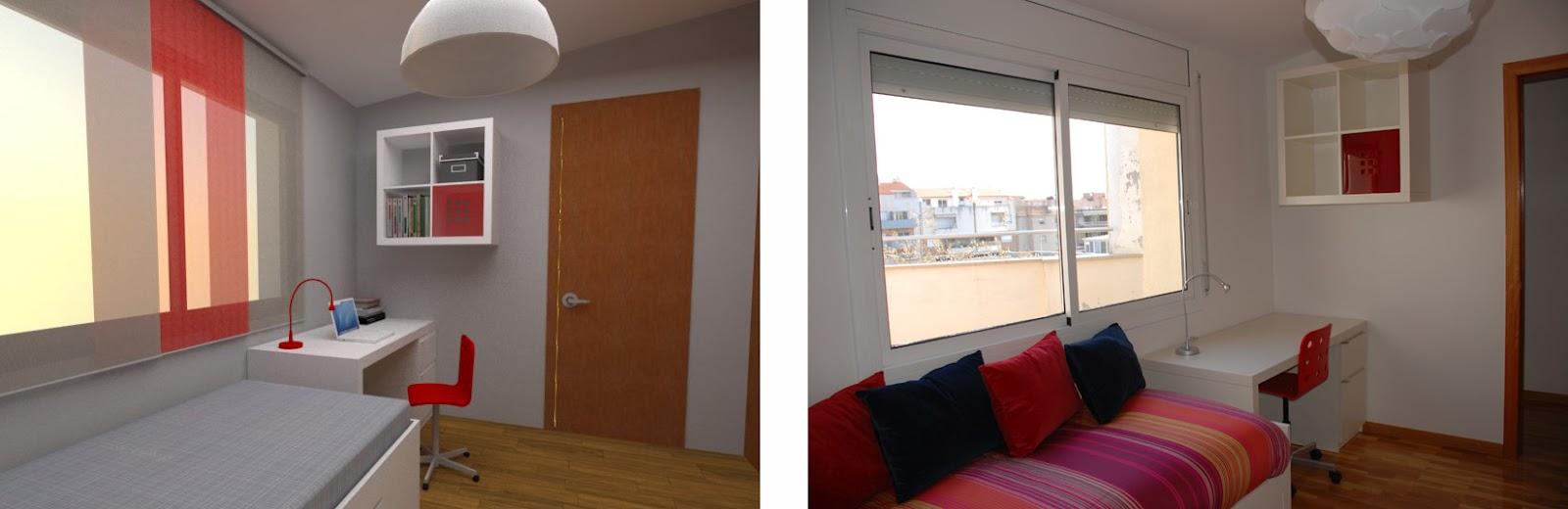 Estudio de arquitectura emearq as qued nuestro dise o - Cortinas ikea habitacion ...