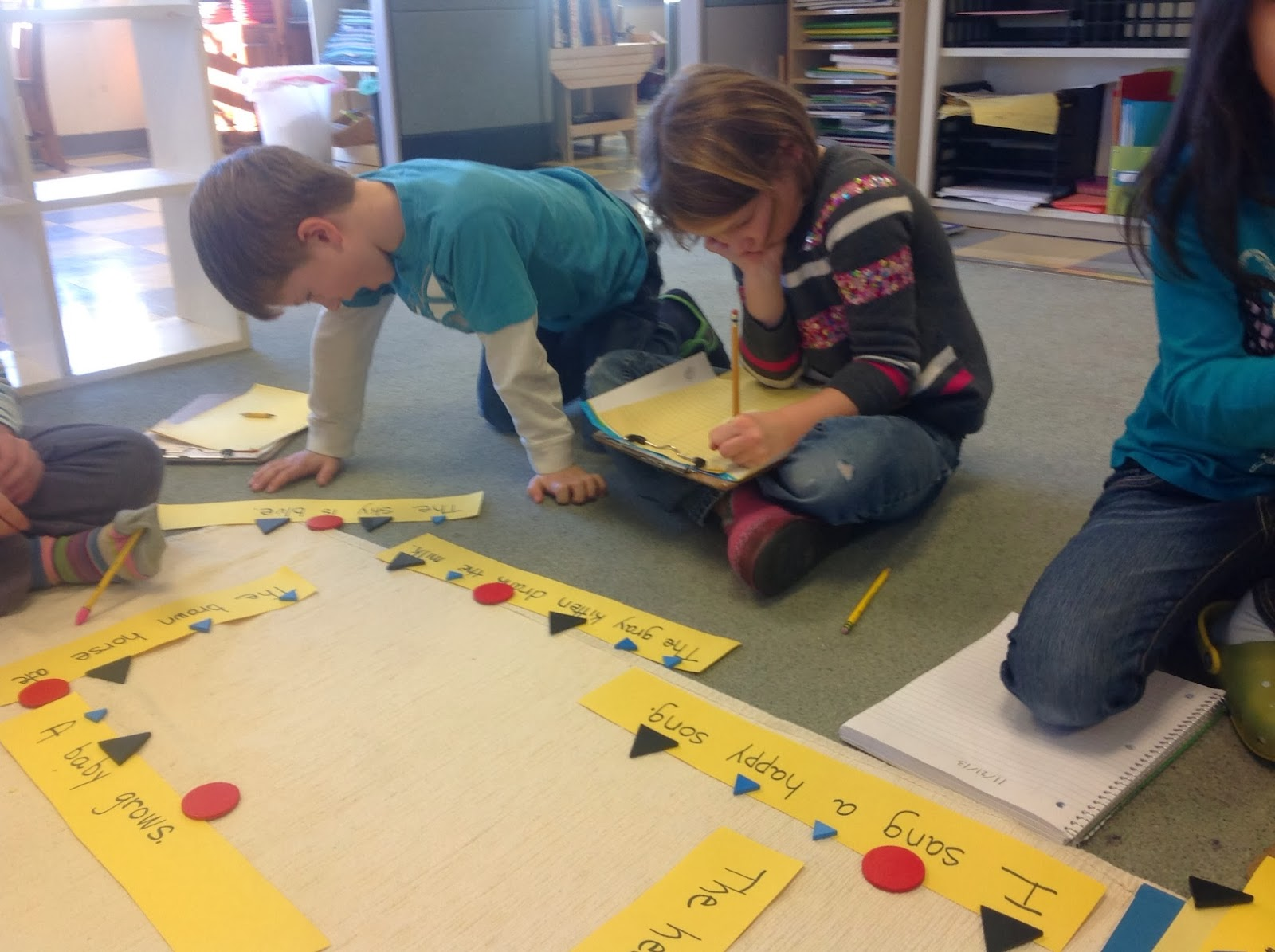 Elementary Classroom Games : Cornerspring montessori school grammar and math in the
