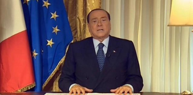 Il videomessaggio di Berlusconi dopo la sentenza Mediaset