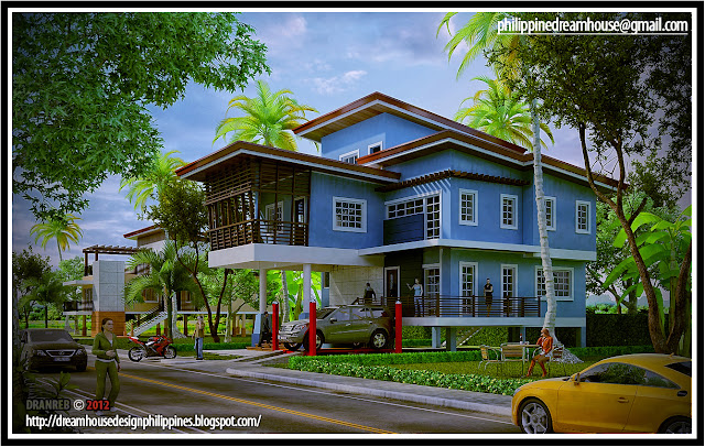 Philippine dream house design elevated house design 2 for Elevated home designs