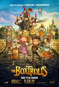 Poster original de Los Boxtrolls