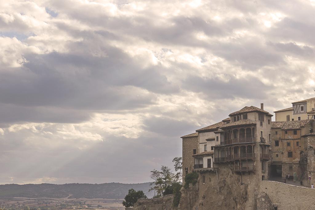 Fotografía casas colgadas Cuenca