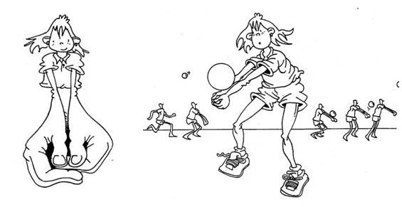 Voleibol.: Técnica (Golpe de Antebrazos o Mano baja)
