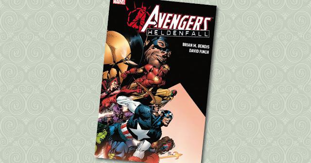 Avengers Heldenfall Panini Cover
