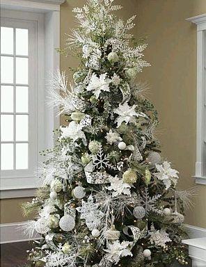 Arboles de navidad color blanco parte 1 - Arboles de navidad blancos ...