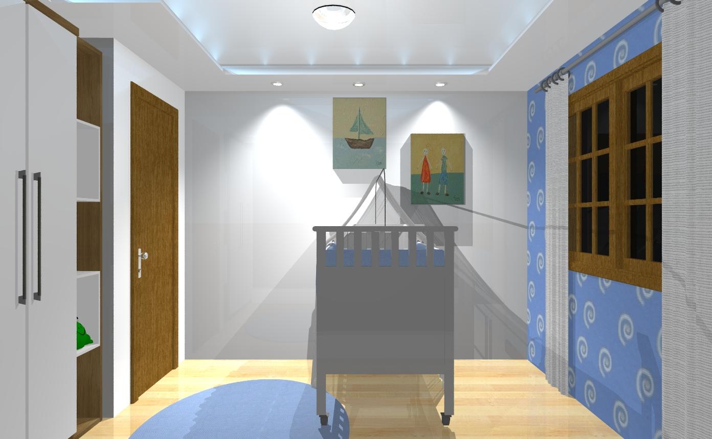 Ambientes planejados Dormitório bebê  ~ Quarto Planejado Estilo Japones