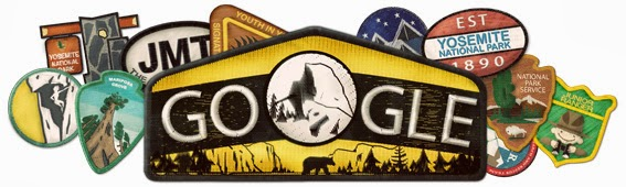 Google Doodle Celebrates Yosemite's 123rd Birthday