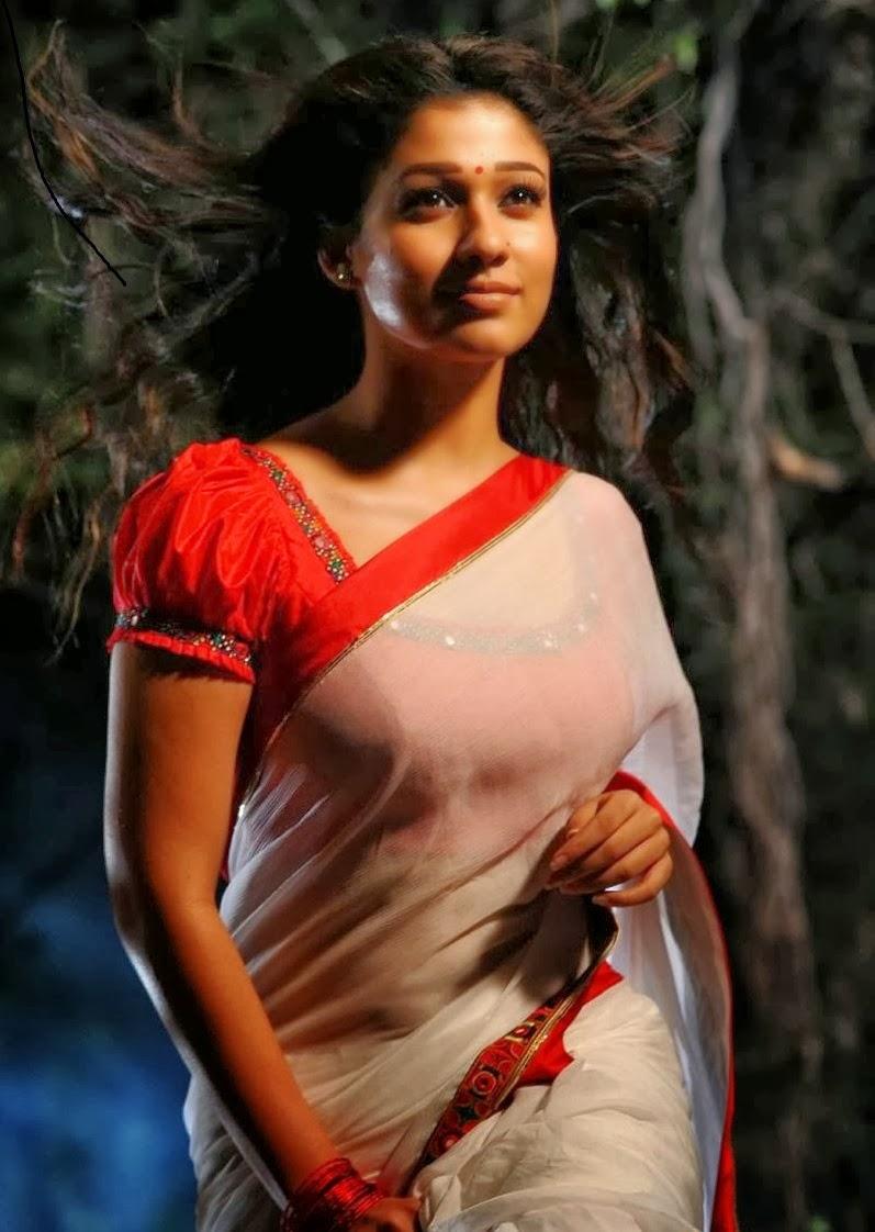 Nayan Thara Hot In Saree | TopTricker Mobile Tricks , Pc