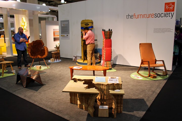 Our Booth With The Furniture Society!