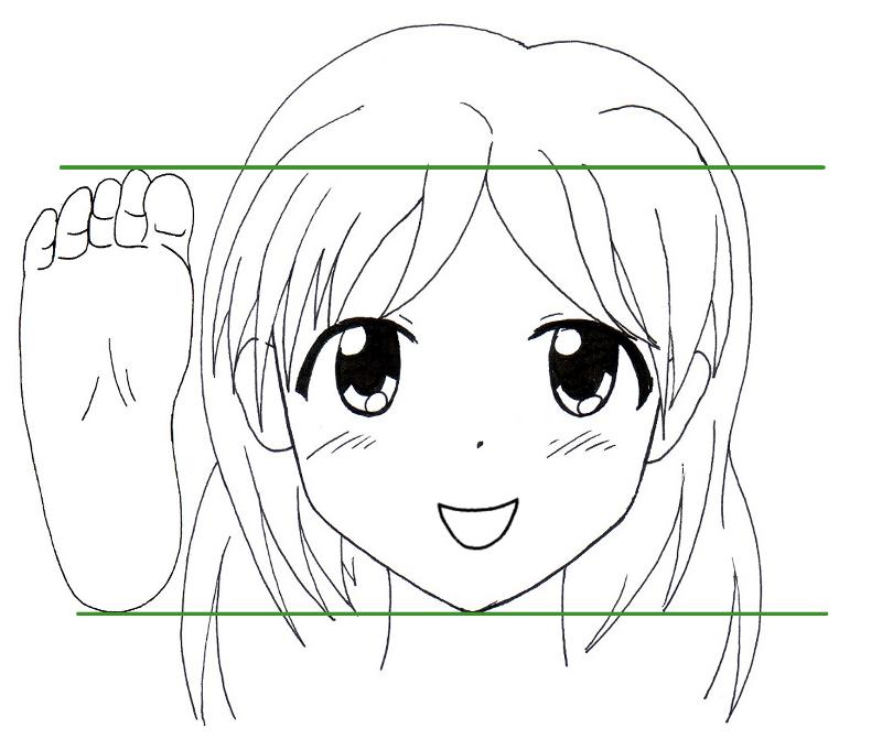 Tutoriel Manga comment dessiner un pied