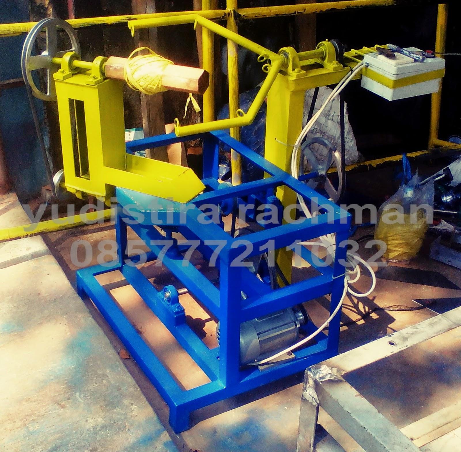 mesin gulung rafia Padang
