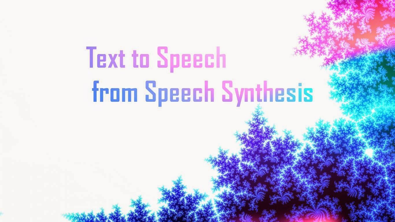 android speech synthesis Listener for events relating to the progress of an utterance through the synthesis queue  androidspeech androidspeechtts androidsystems  androidspeech .