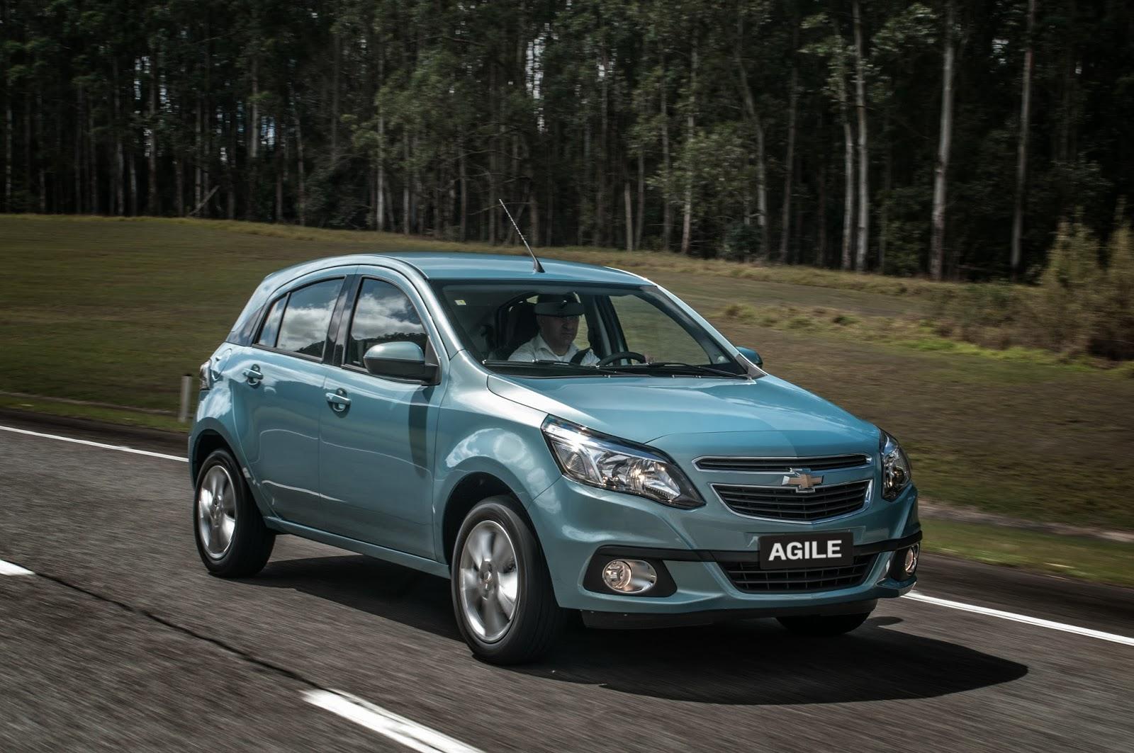 Chevrolet Agile 2014: Todas las fotos que Chevrolet Argentina no