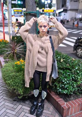 японская уличная мода молодежь