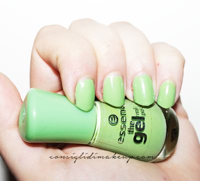 NOTD:Smalto The Gel 26 Brazil Jungle - Essence Cosmetics
