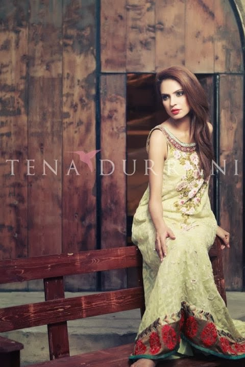 Tena durrani new bridal dresses