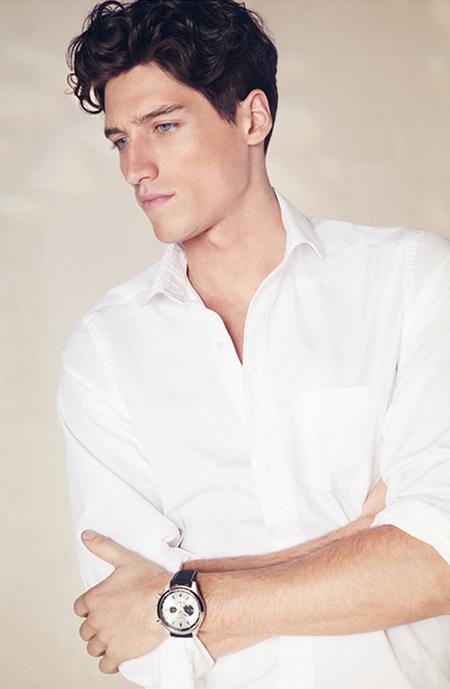 camisas blancas hombre 2011