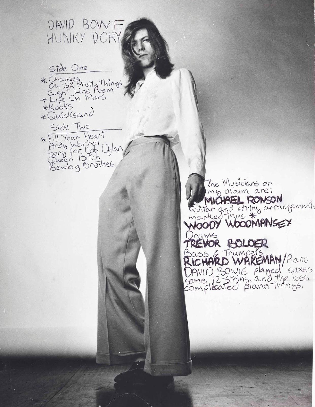 David Bowie 1971 Vintage Everyday