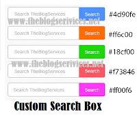 How to Add Search Box for Blogger Blog