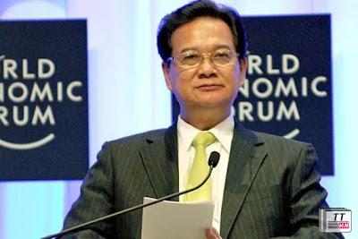 Thủ tướng Nguyễn Tấn Dũng phát biểu tại Hội nghị WEF Đông Á 2013. Ảnh: Cổng ĐT chính phủ