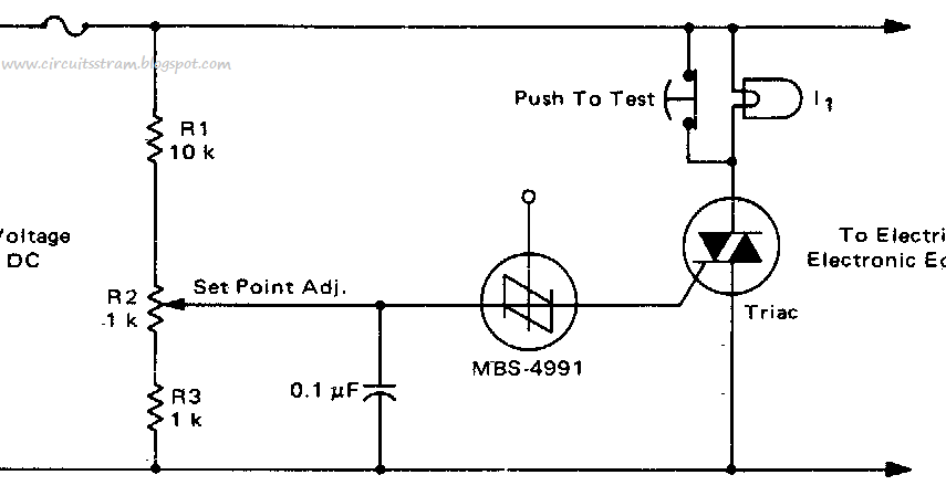 circuit panel best electronic crowbar circuit diagram for ac or dc rh panelblogs blogspot com