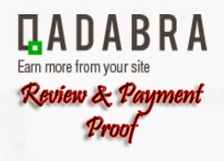 Qadabra Review,Qadabra Payment Proof ,AdSense Alternative