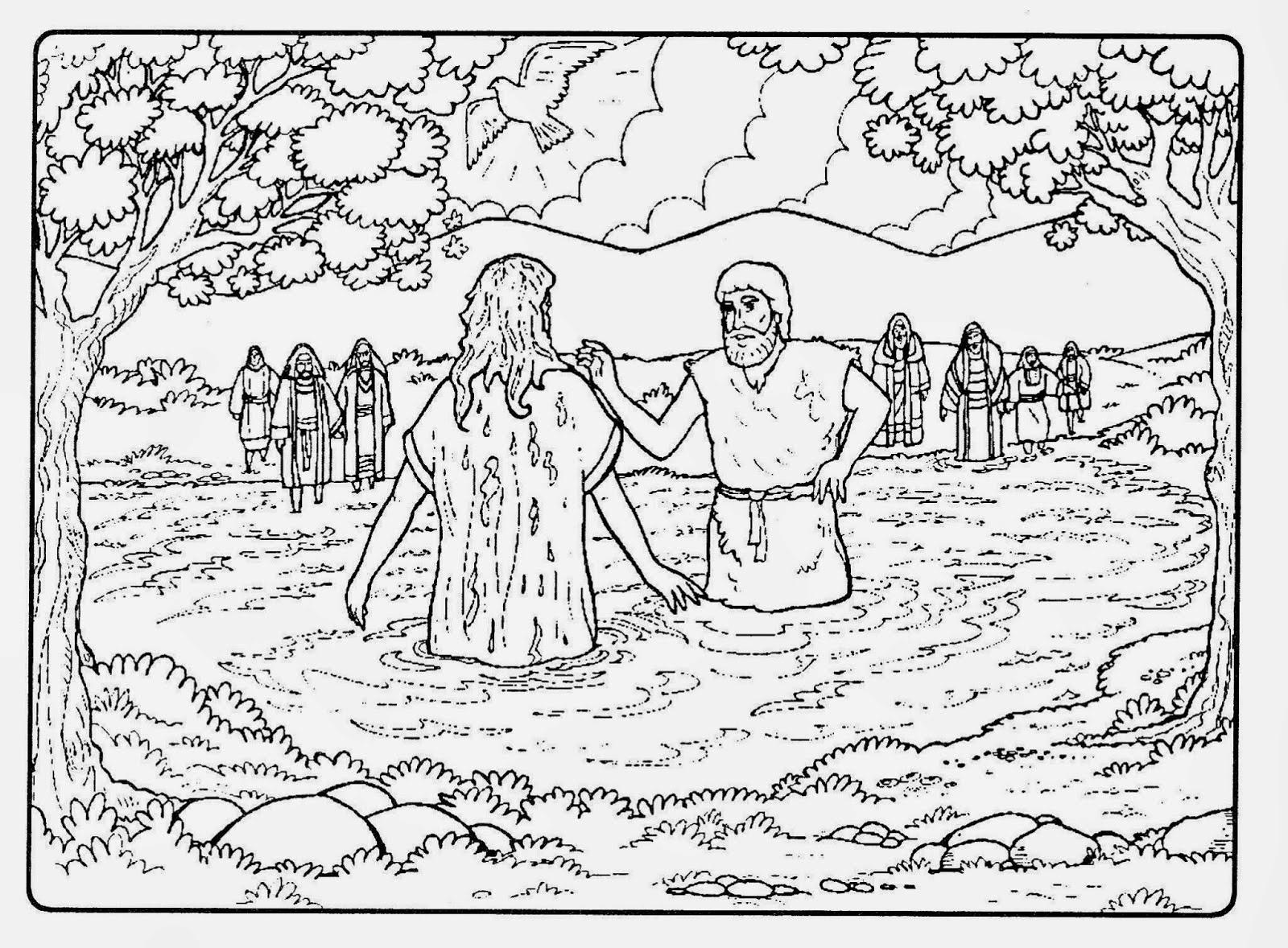 Super Tias da Escolinha - Ministério Infantil: O Batismo de Jesus! ND53
