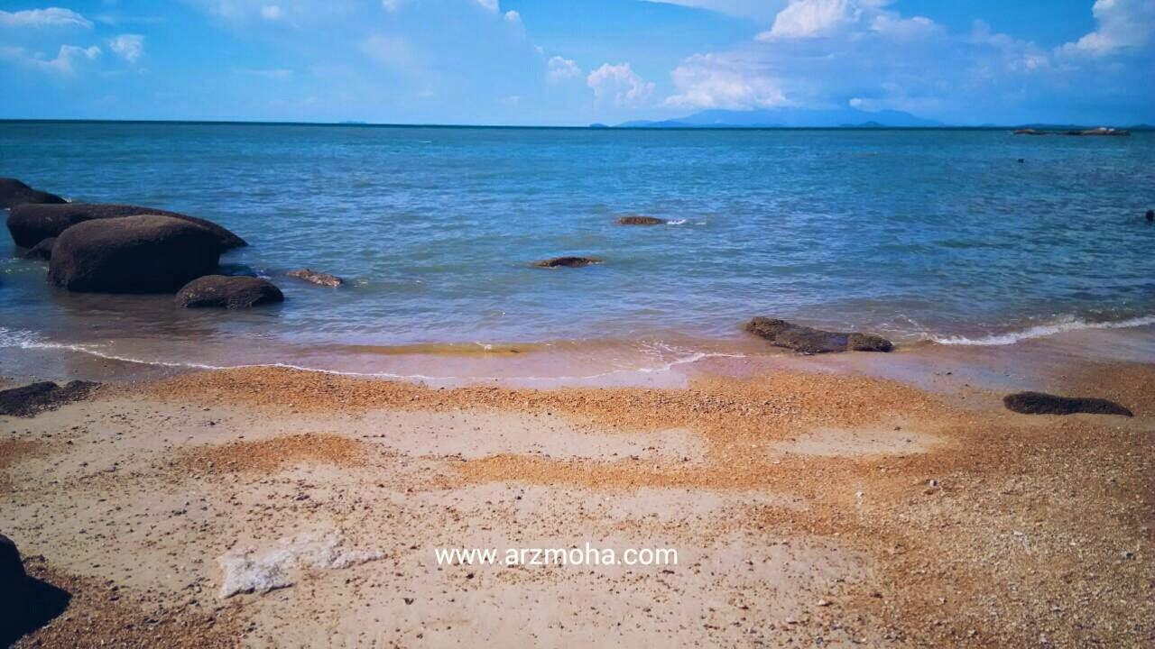 pantai miami pulau pinang, pantai tsunami, penang, visit malaysia 2015, gambar cantik,