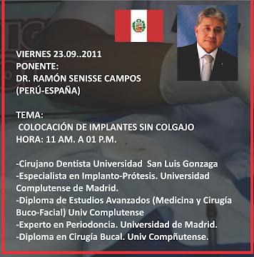 ASESORIA DE IMAGEN: DR. RAMÓN SENISE CAMPOS