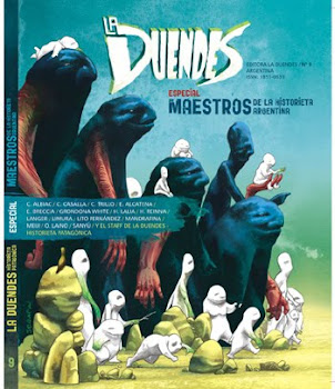La Duendes 9. Especial maestros de la historieta argentina. Uno de los libros claves del 2010.