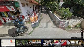 Jalan Suka Damai III Dilihat Dari Google Map