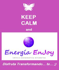SESIONES INDIVIDUALES Y GRUPALES... PRESENCIALES O A DISTANCIA... DE ENERGÍA ENJOY!!!