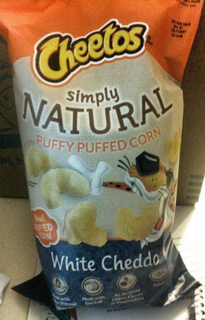 Natural Puffy Puffed Corn