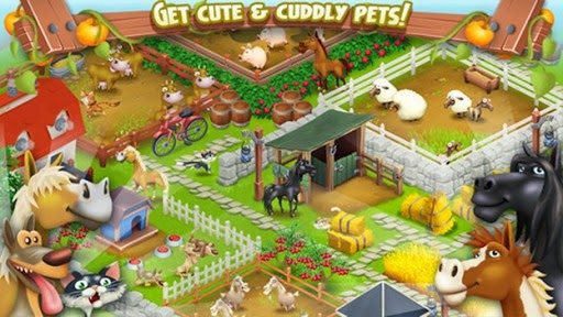 Hay Day, el juego de granja para los niños