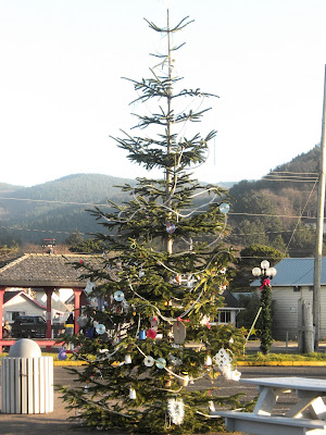 Christmas Tree In Rockaway Beach Oregon
