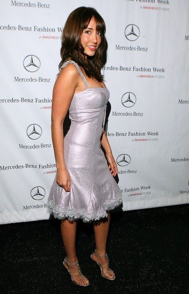 Fernanda Romero beautiful dress picture