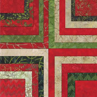 Moda JOY BATIKS Christmas Quilt Fabric by Edyta Sitar of Laundry Basket Quilts