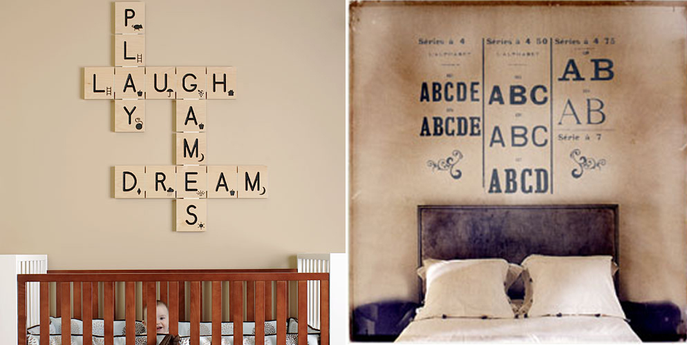 Topsecret deco decoraci n con letras - Scrabble decoracion ...