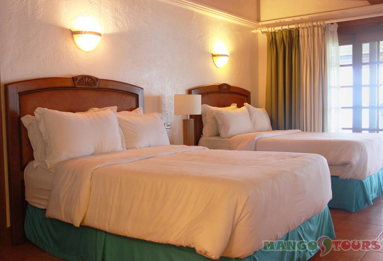 Mango Tours Philippines Alegre Beach Resort & Spa Room Accommodation