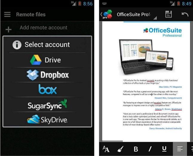 19 дек 2014 OfficeSuite Pro 8 - Это приложение позволит вам создавать, реда