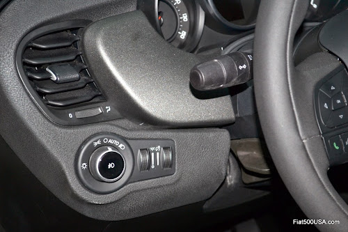 Fiat 500X Headlight Switch