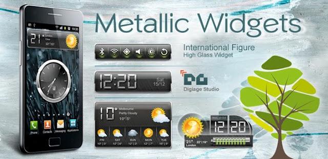 HD Metallic Widgets gratis-Torrejoncillo