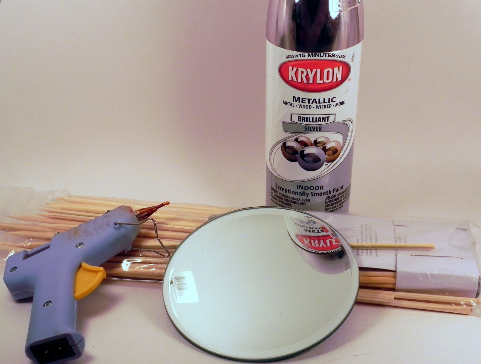 Smart n Snazzy: DIY ~ Sunburst Mirror Wall Decor