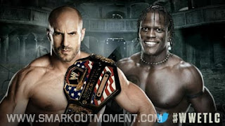 Watch WWE TLC 2012 US Championship Antonio Cesaro vs R-Truth