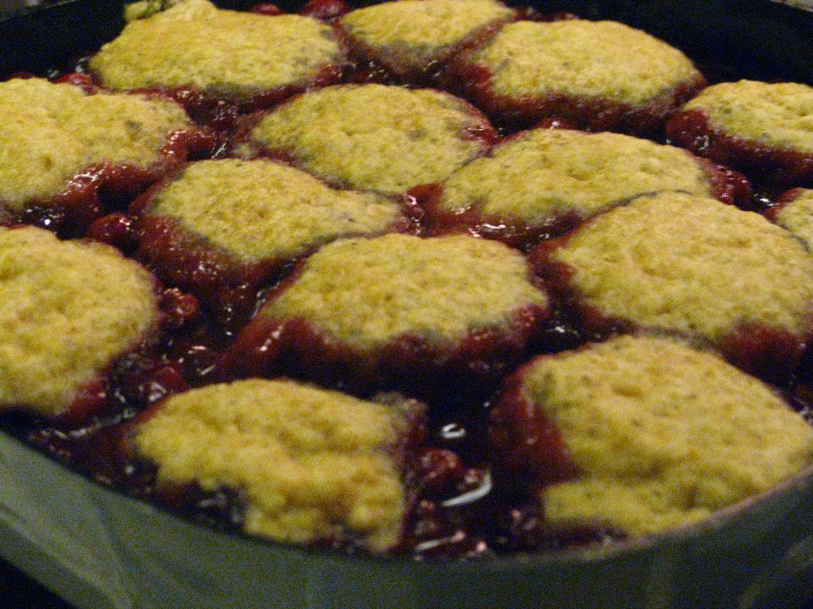 ... raspberries and make this old-fashioned Cranberry-Raspberry Slump