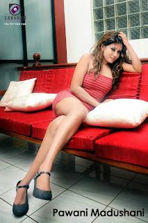 Pawani Madushani crossed legs