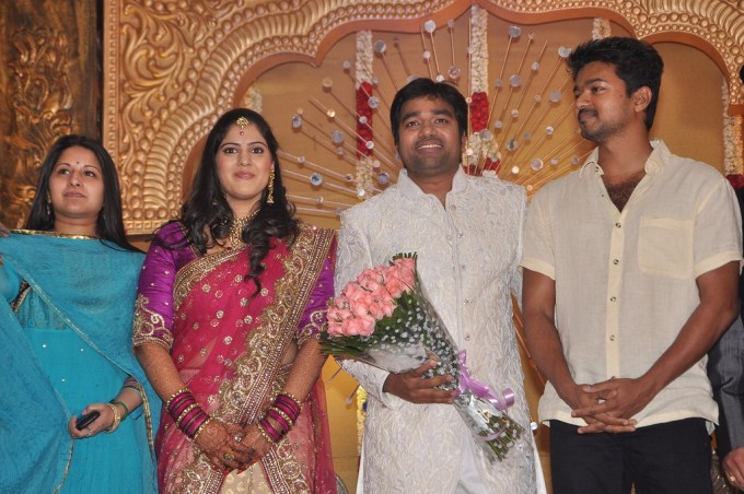 Actor Shiva reception stills